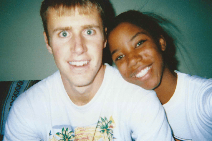 interracial couple in an interracial marriage wrong first impression