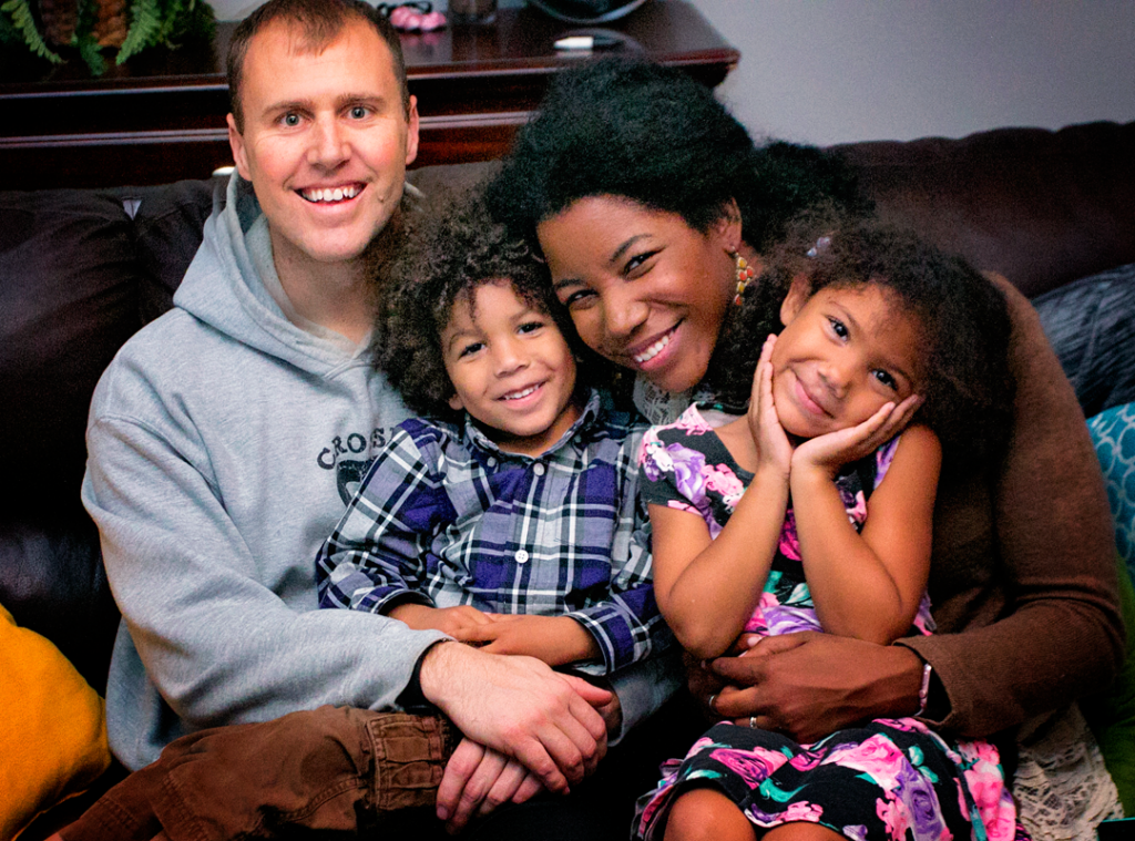 Interracial family Celebrating MLK Day Tips