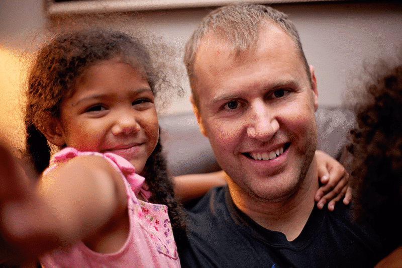 White daddy, biracial daughter MLK Day discission
