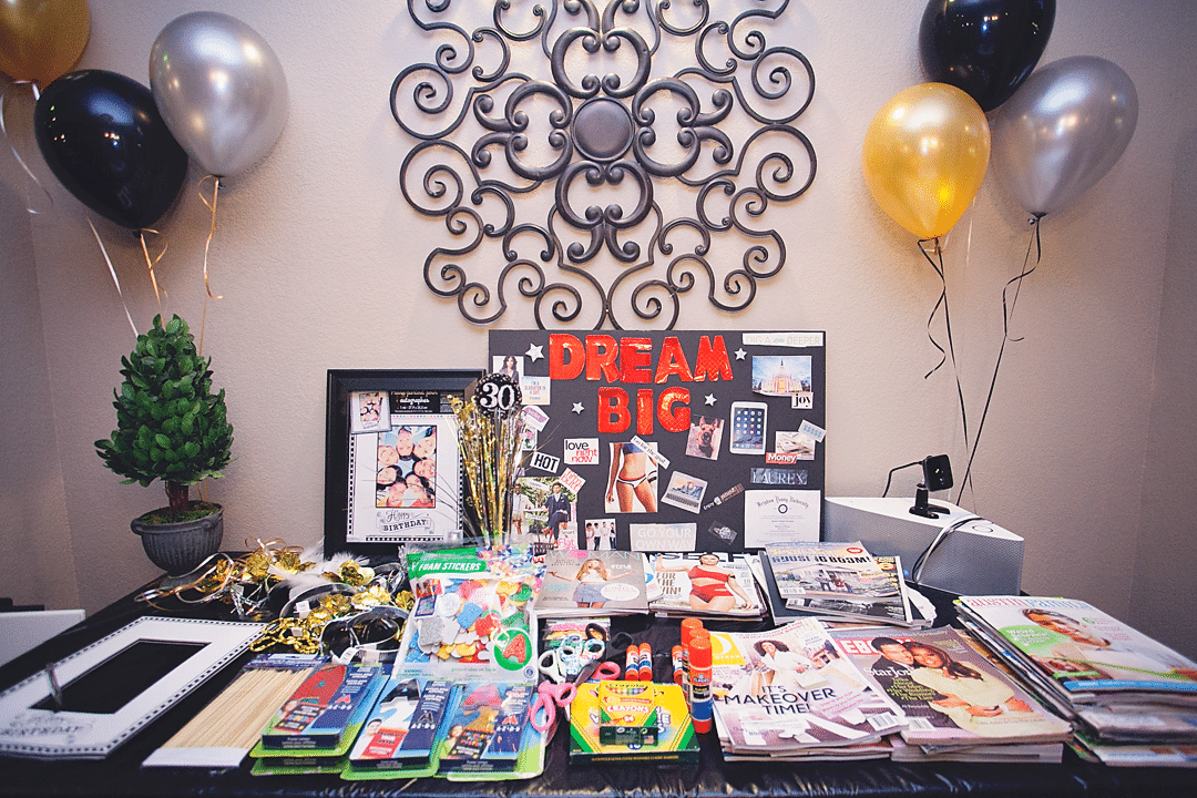Start Your 30's The Right Way: How to Host a Vision Board ...