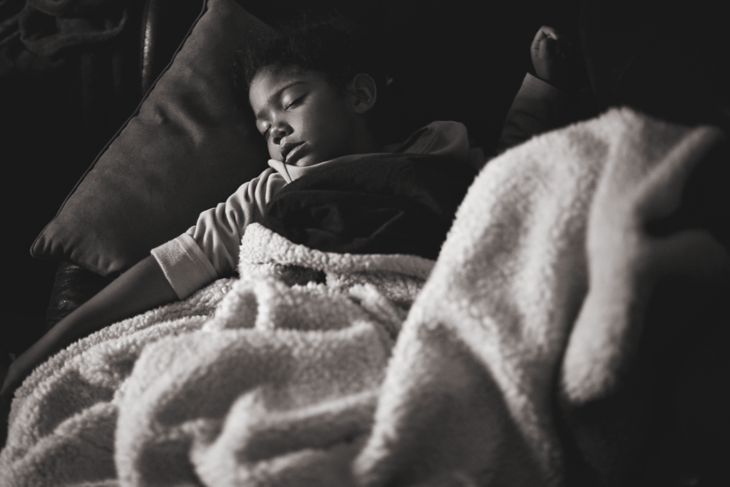 How to best help your kids when they're sick.