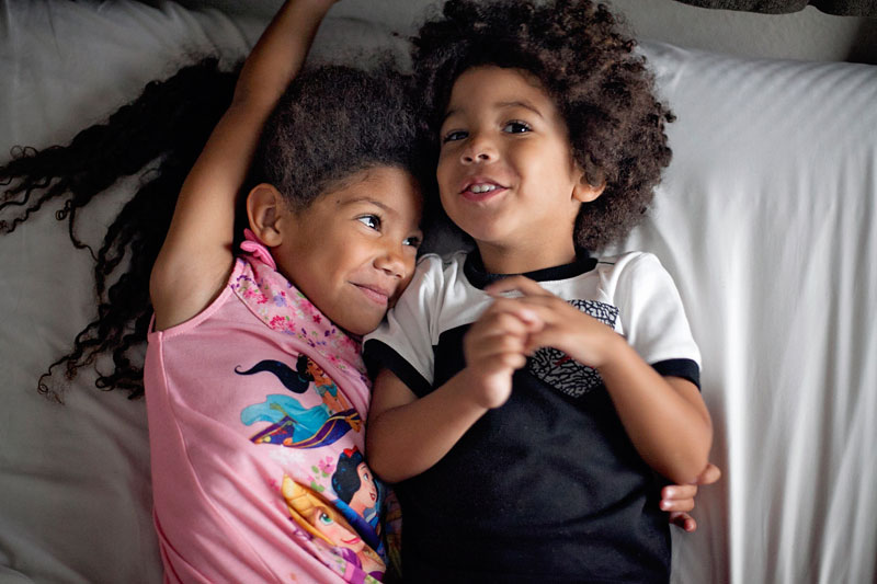 Biracial Siblings- When you know you're done having kids