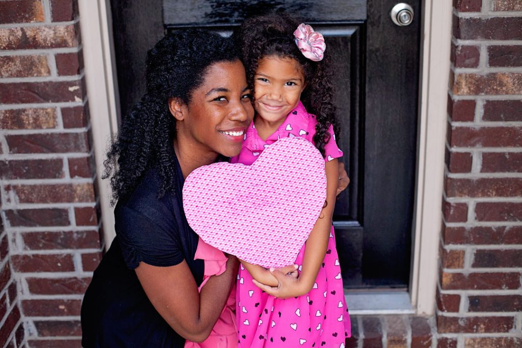 Mother-daughter-Valentines