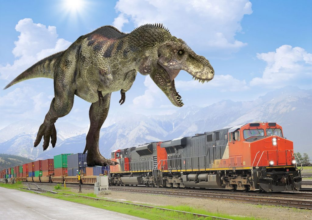 Realistic Dinosaur Train