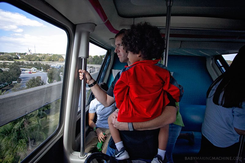 Disney World Secrets for Preschoolers: Monorail