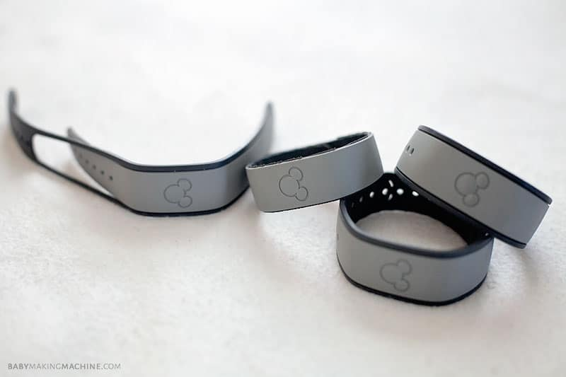 Disney World Secrets for Preschoolers: Magic Band Sizes