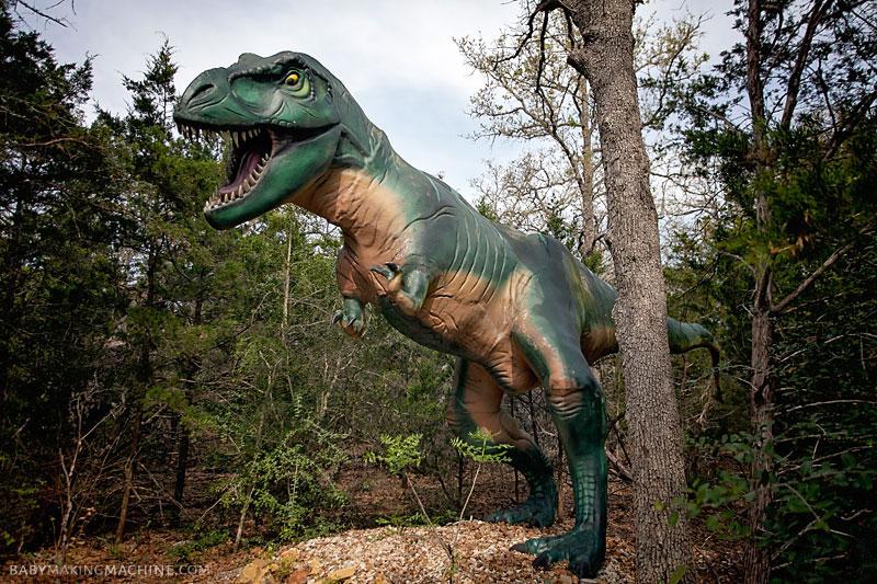T-Rex at Dinosaur Park Texas
