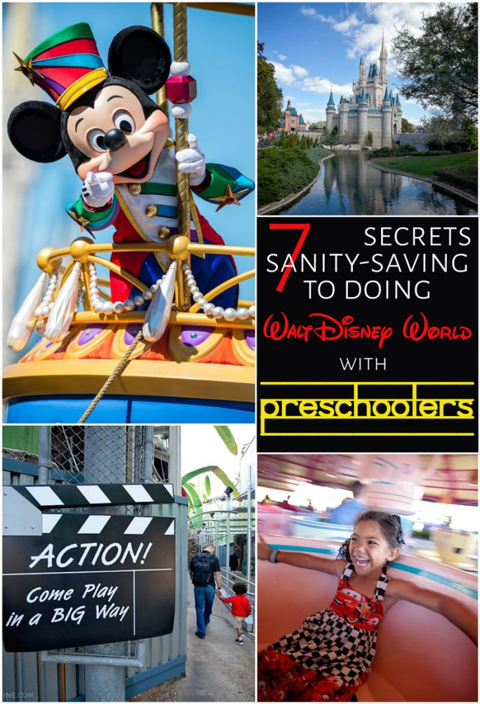 Secrets to doing walt disney world with preschoolers