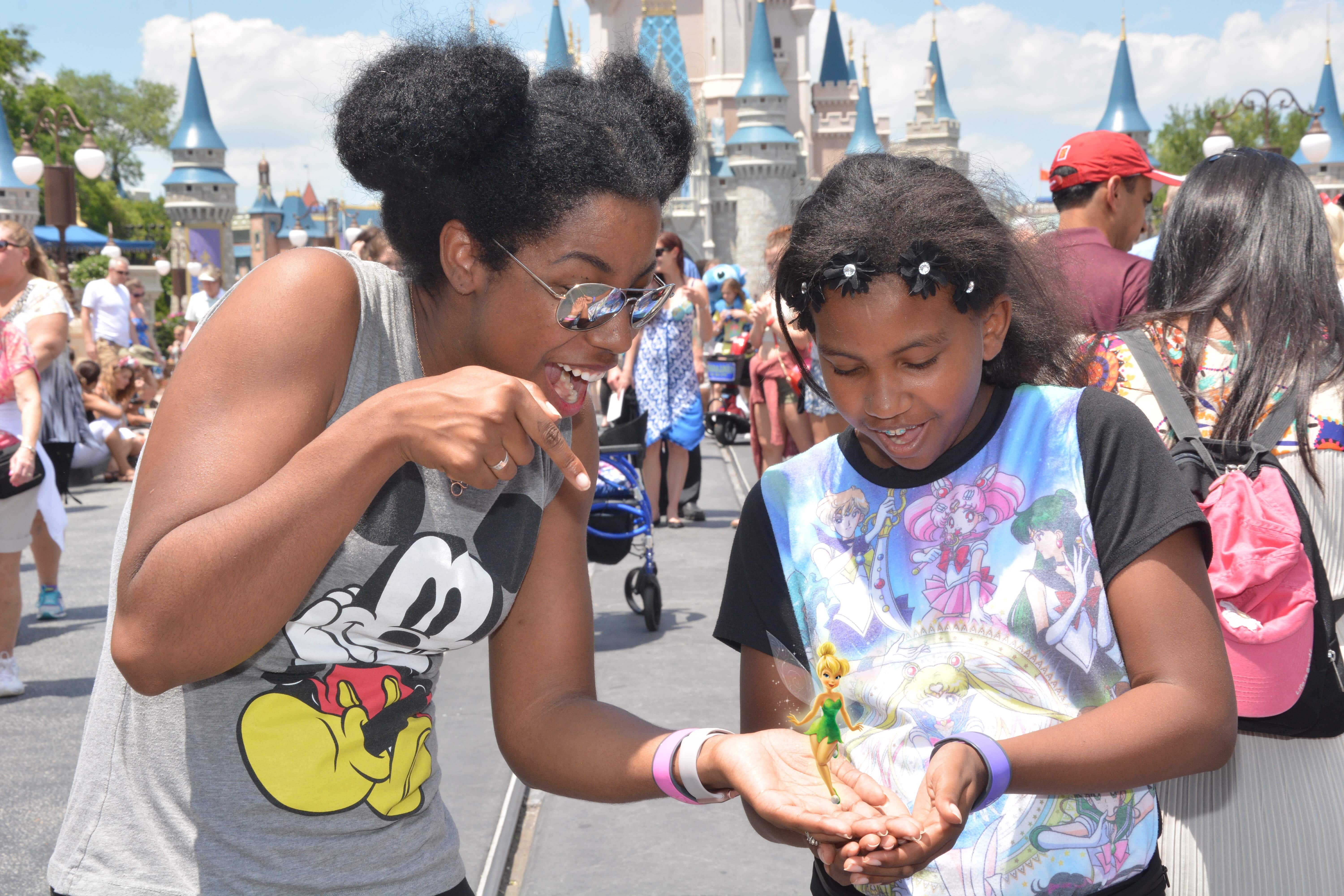 0a6b9c15 Lil' J couldn't join me because I'm already toeing the bad parent line with  taking her out of school for trips. she knew I was going to Disney World  for ...