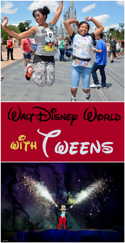 Disney World with a Tween. How it's different and rides they'll love.