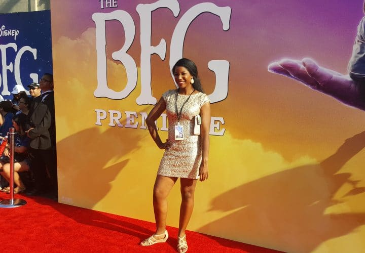 The BFG hollywood movie premiere red carpet