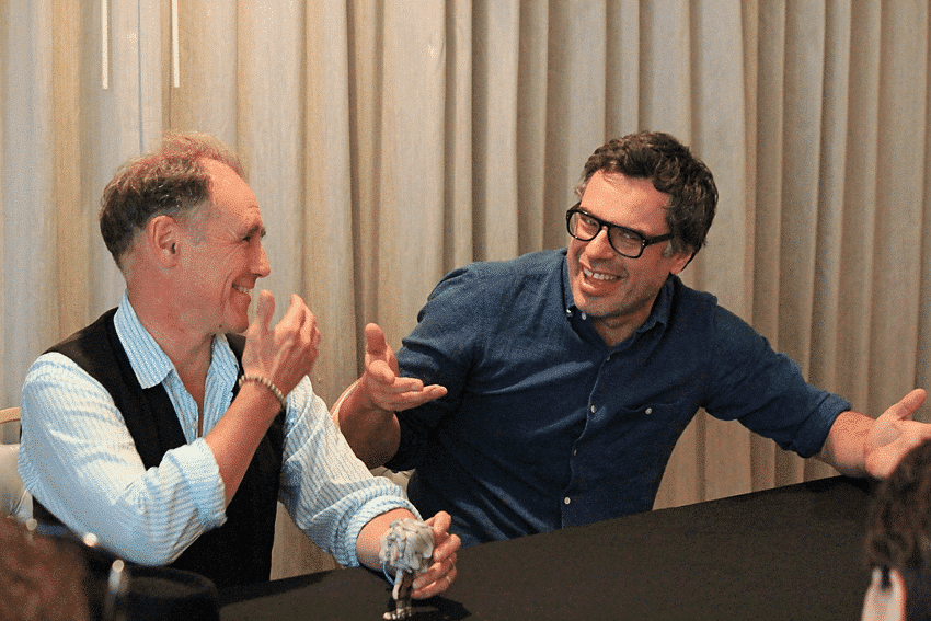 Mark Rylance and Jemaine Clement Interview about The BFG with mom bloggers