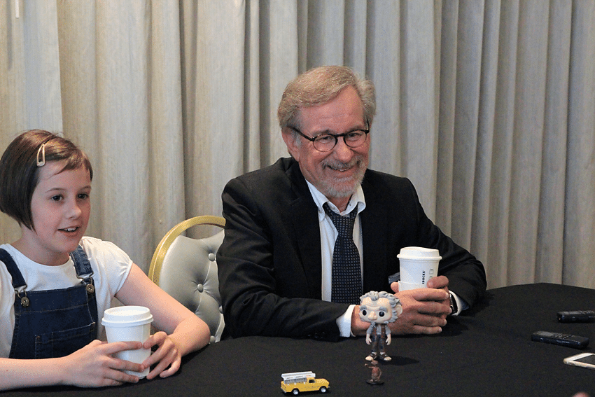 Steven Spielberg The BFG Interview: The time I met Steven Spielberg, the questions I asked and the special moment we had.