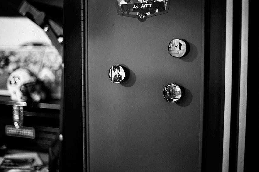 Gatorade lid photo magnets
