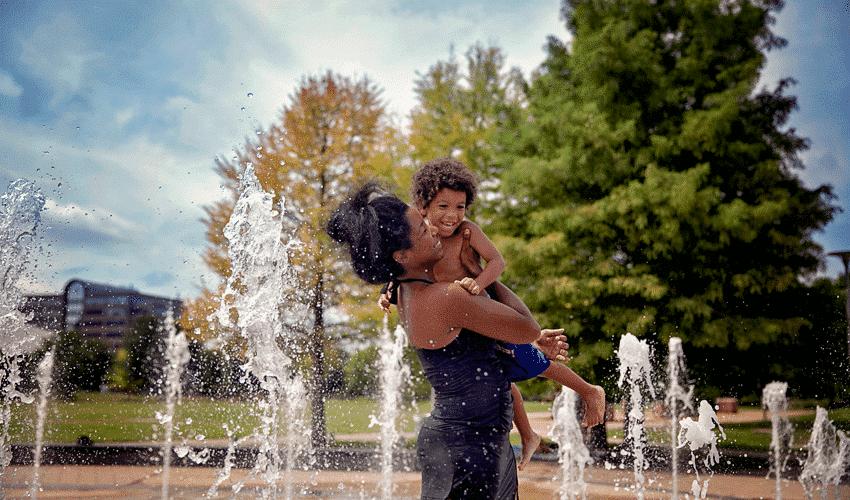 Butler Park Fountains Austin
