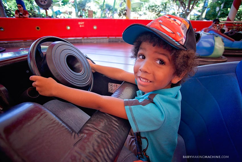 How to do Disneyland in a day with a toddler.