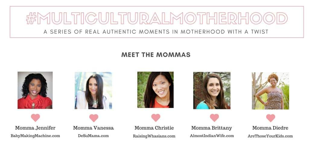 Multiracial Multicultural mom bloggers