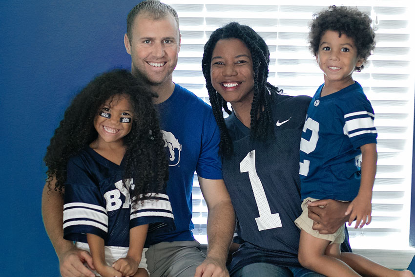 BYU family superfans