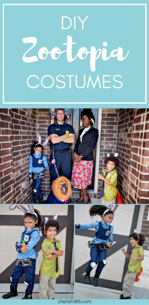 DIY Disney's Zootopia Halloween costume. #family #costumes 16. What to do in Washington DC with kids. #traveling