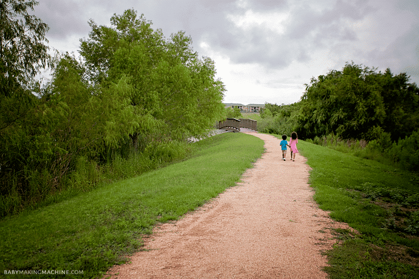 Nature hike with kids-Getting outdoors and enjoying the world we live in.