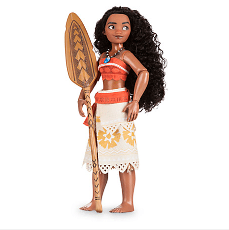 Moana Barbie style doll