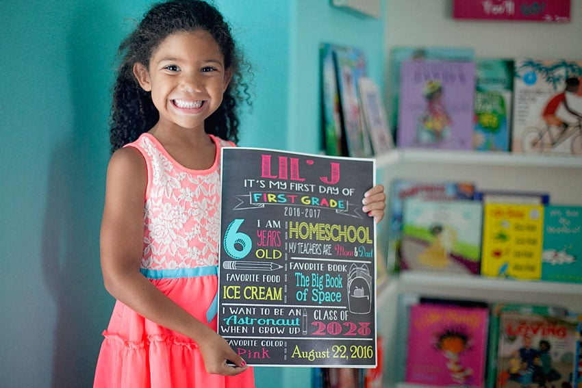 10 Fun First Day Of Homeschool Traditions To Kick Your Year Off Right