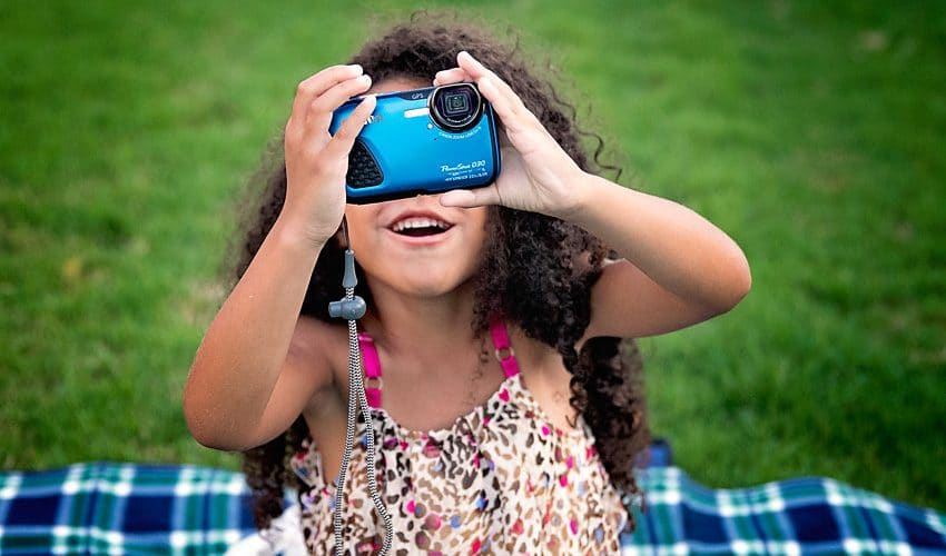 Best camera for kids: Teaching your child photographer.