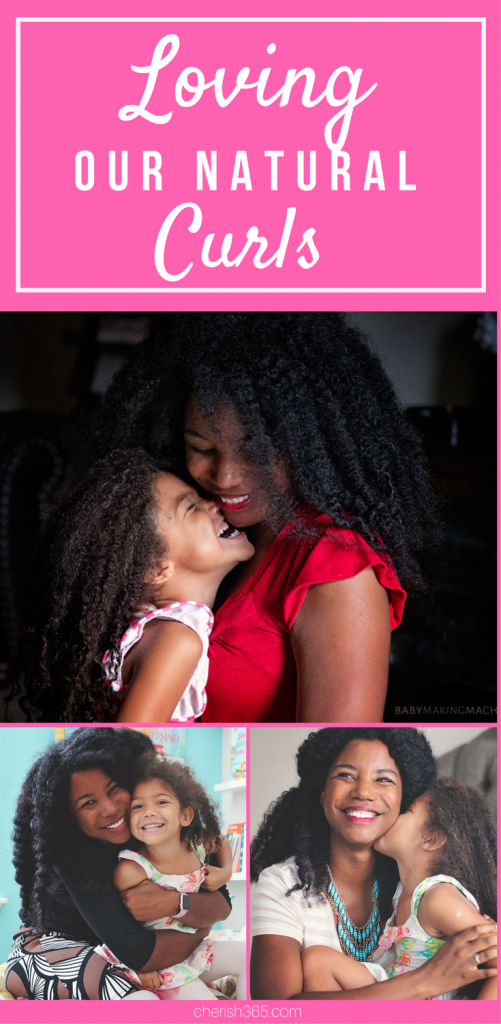 Teaching children to love themselves for who they are is one of the most important things we can do for them, that's why I'm learning to love my hair and teaching my daughter to love hers too.