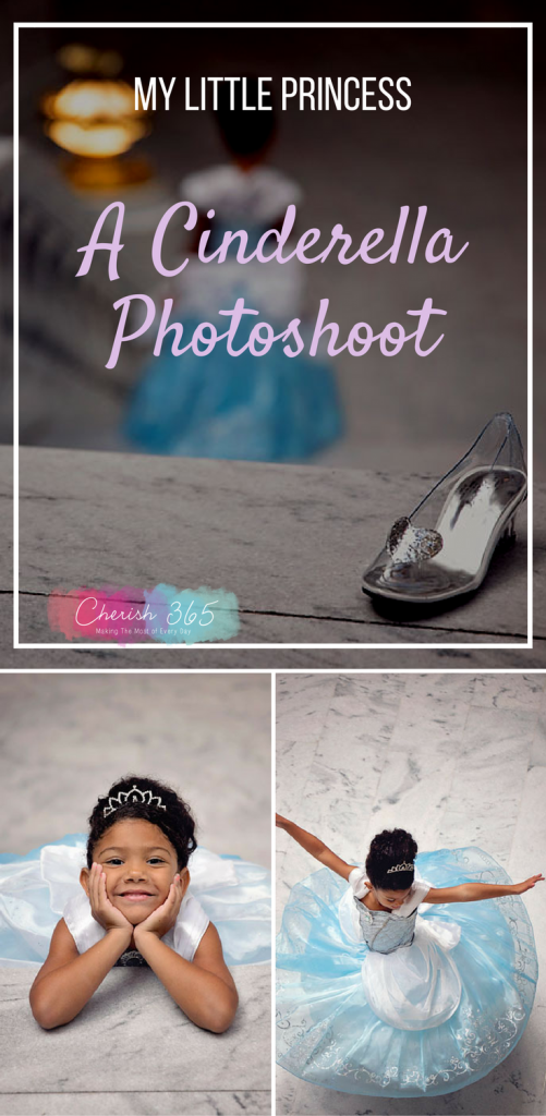 DIY fairytale Cinderella photoshoot.