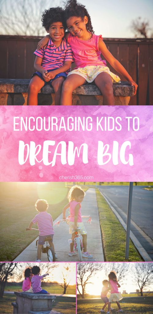 Teaching children to dream big and use their imaginations.