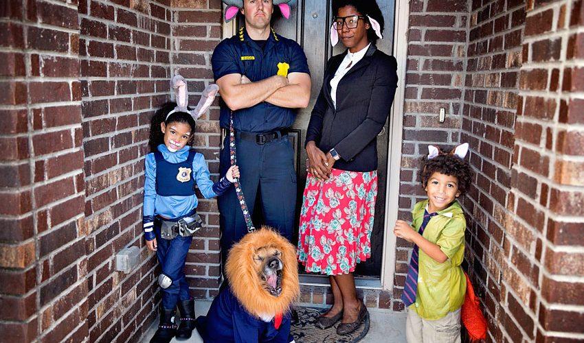 DIY Family Zootopia Costume