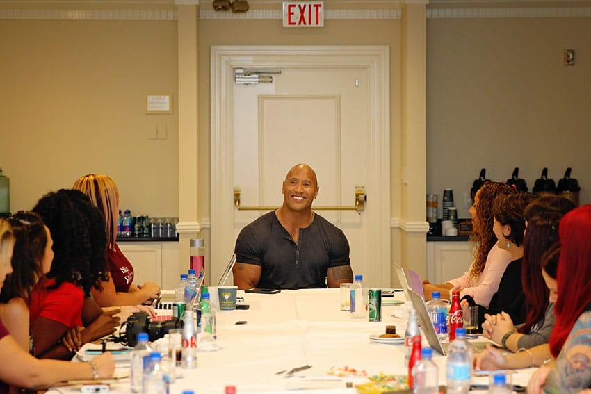 """Exclusive interview with Dwayne """"The Rock"""" Johnson about Moana and how his Polynesian culture was represented by Disney."""