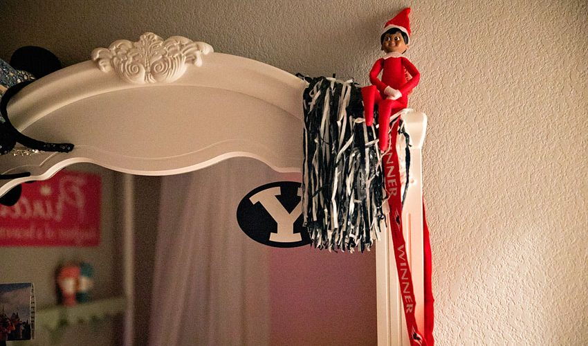 So we gave in to the elf on the shelf, here's why...