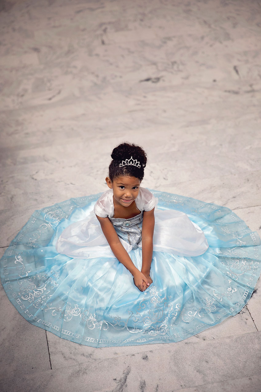 Biracial Disney Princess Series: My Little Princess- A cute and creative mother-daughter photo series featuring a biracial girl dressed up as Disney Princesses. Part 9: Cinderella