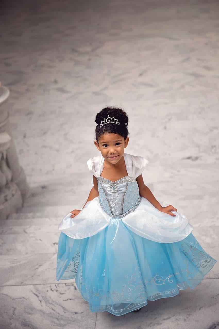 Biracial Disney Princess Series: My Little Princess- A cute and creative mother-daughter photo series featuring a biracial girl dressed up as Disney Princesses. Part 9: Cinderella