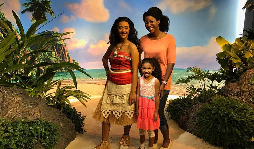 Meet Moana at Disney World Hollywood Studios