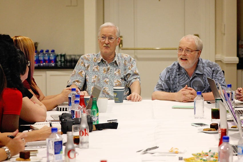 Ron Clements and John Musker Moana Interview