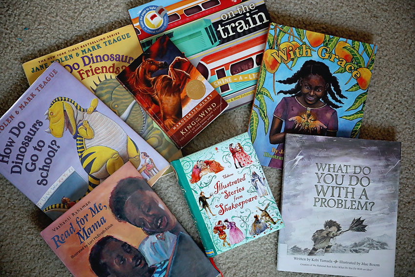 A year of books! 365 books to read with kids.
