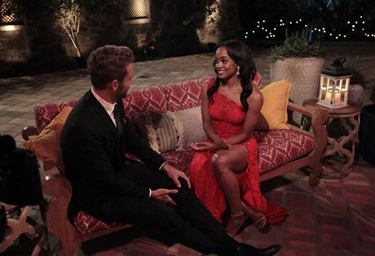 I was in an interracial marriage before the bachelor made it cool. Nick Viall and Rachel.