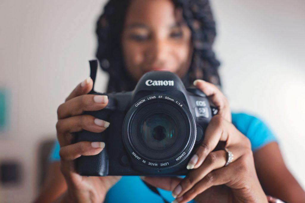 Canon EOS Rebel t7i DSLR modes explained