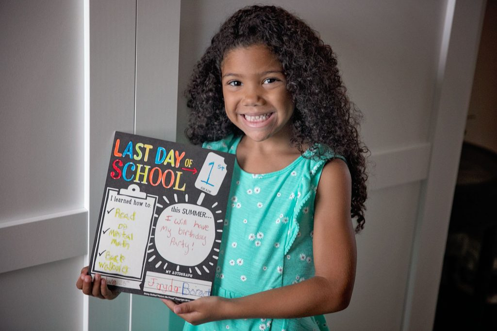 last day of homeschool first grade what I learned