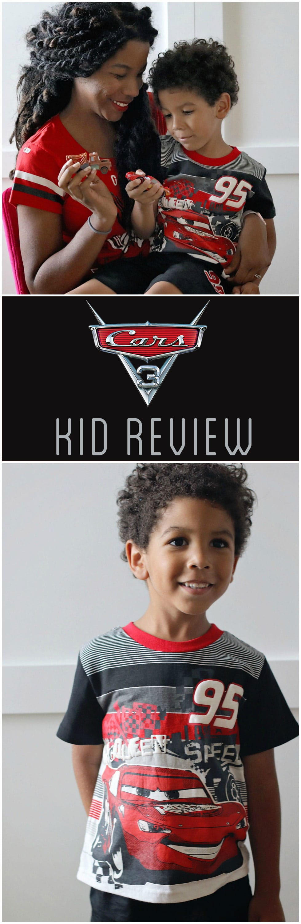 A 4-year-old's take on the new Pixar film. Cars 3 review.