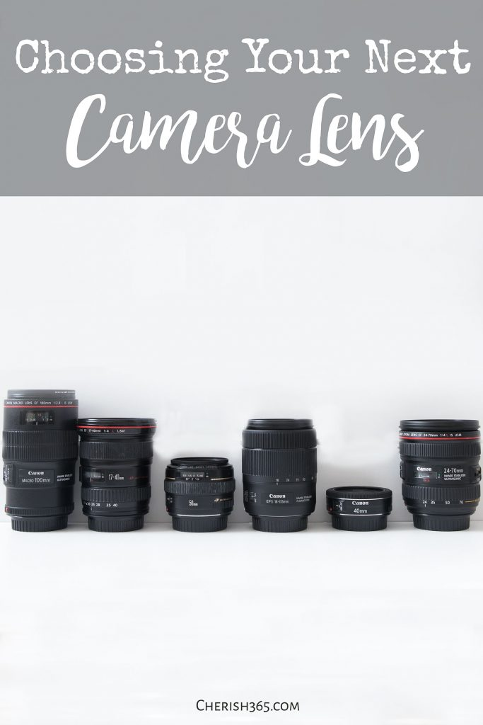 Which Camera Lens? A Breakdown of the Best Lenses for Your Needs