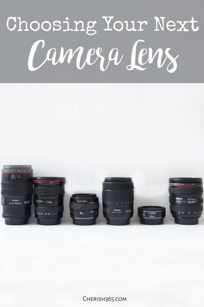 How to choose your next camera lens. Camera lenses explained.