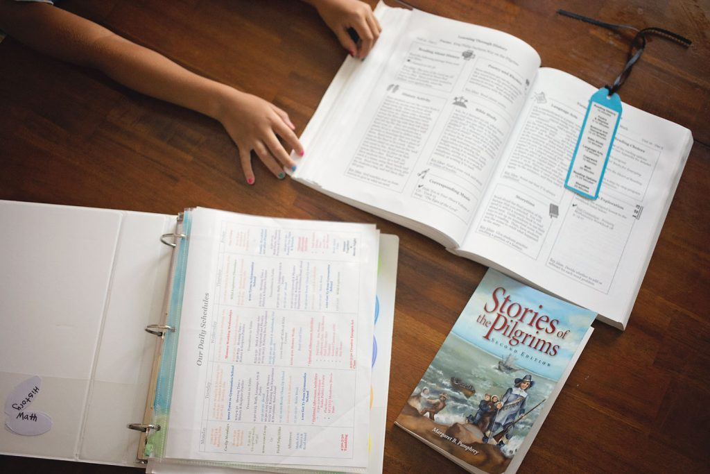 A homeschool day in the life. Our homeschool routine.