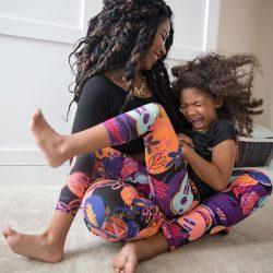 Letter to my daughter- Mommy and me self-portraits in Disney Leggings LulaRoe