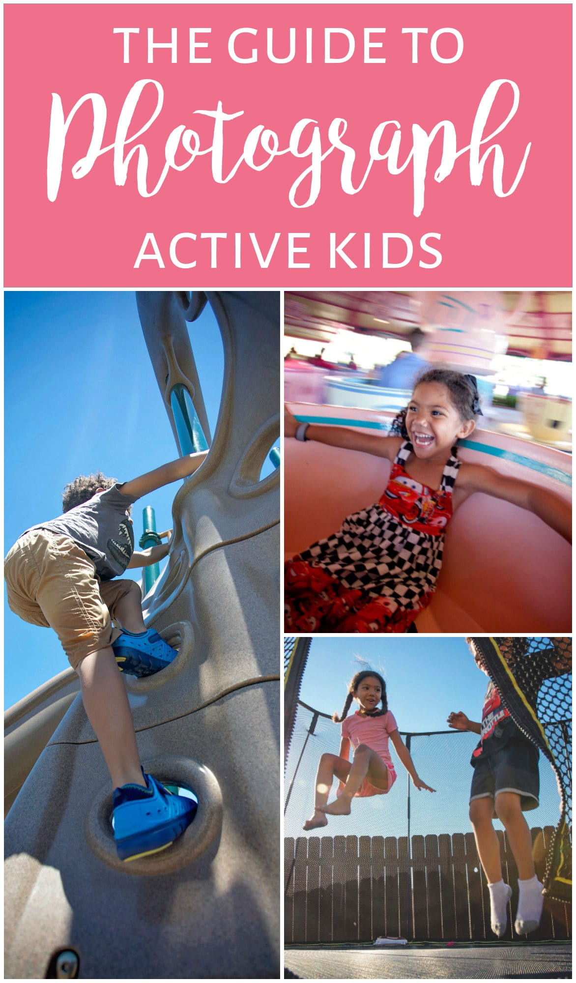 10 tips to help you photograph your active kids