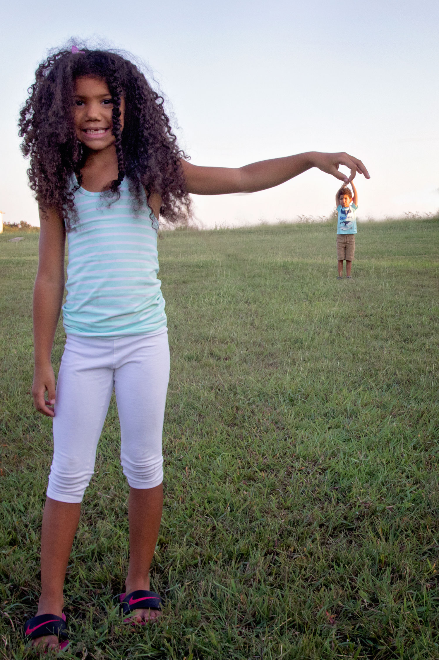 Tips for taking forced perspective photos