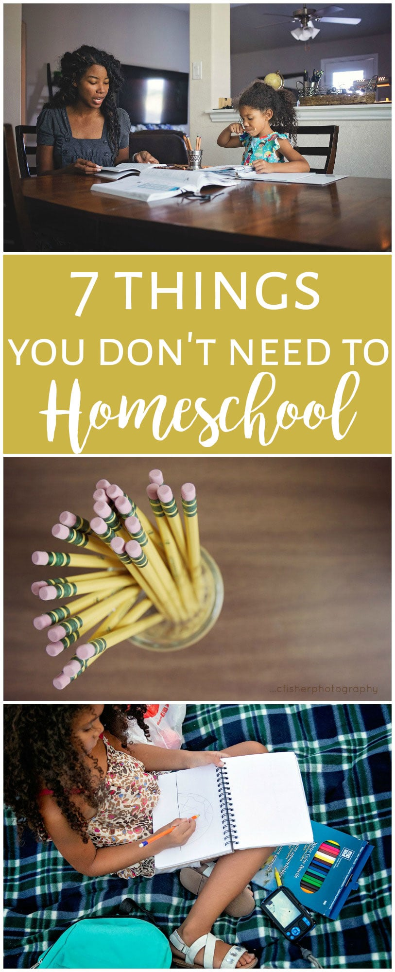 7 things you don't need to homeschool your kids.