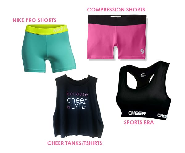 Christmas gifts for competitive all star cheerleaders